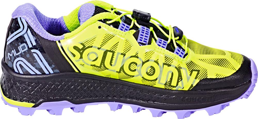 saucony Koa ST Running Shoes Women Citron/Blue US 10 ULOcWtmE